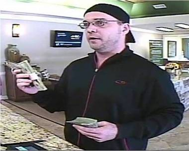 "The FBI and local police in Arkansas, Mississippi and Texas are seeking a serial armed bank robber dubbed the ""Loan Ranger Bandit."" (Submitted by the FBI)"