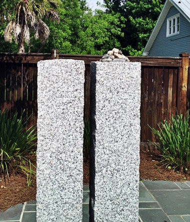 """An empty pedestal is all that remains of the """"Crow and the Pitcher"""" which was recently dedicated at Keys Municipal Park in Ocean Springs. The crow sculpture was discovered missing over the weekend."""
