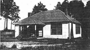 Located at 902 De La Pointe Drive in Gautier, this was the West Pascagoula Colored School from 1921 to 1946. A year ago, the Gautier City Council began efforts to obtain grant funding for preserving the vacant structure for possible use as a city history museum. It is in disrepair. It has now been named to the stateas most endangered list for historic structures. (Photo courtesy of the Jack Womack Collection)