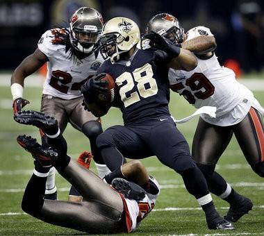 New Orleans Saints running back Mark Ingram. (AP Photo/Bill Haber)