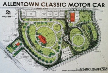 A 20-acre private development is proposed to showcase the Allentown Classic Motor Car collection.