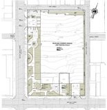 A rendering of the layout for the proposed parking garage. Click the link above to enlarge.