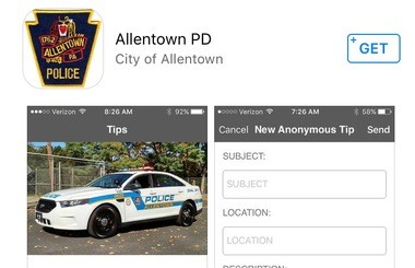 Got a crime tip? Allentown police have an app for that