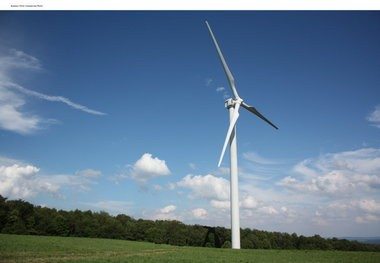 Bethlehem has a new company interested in generating wind energy on the city's watershed lands.