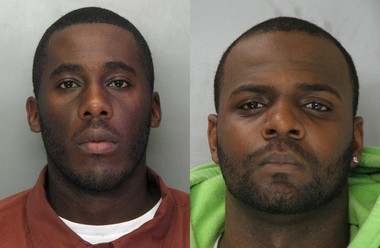 Andre Watley, left, and Chonce Acey were charged with robbing a man and sexually assaulting him in 2009 in Bethlehem Township, Pennsylvania. Watley pleaded guilty to three charges and Acey, who died from gunshot wounds on Sunday night, never faced trial in the case. (Courtesy photos | For lehighvalleylive.com)