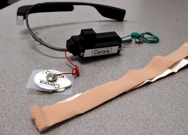 Cerora also has made a prototype of its MindReader that connects to Google Glass.