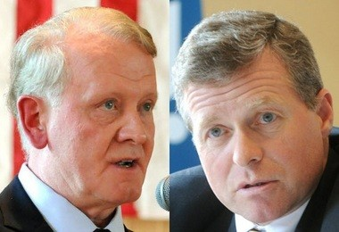 Leonard Lance, left, and Charlie Dent