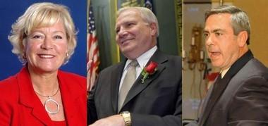 Pa. state Sens. Lisa Boscola, Bob Mensch and Pat Browne represent parts of the Lehigh Valley.