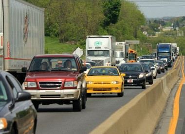 Traffic backs up daily on Route 22.