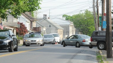 Freemansburg has experienced a large jump in traffic on its small thoroughfares since the Sands Casino Resort Bethlehem first opened five years ago.