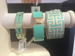Versant, at 3452 Easton Ave. in Bethlehem Township, offers the popular Alex & Ani and Pandora bracelets, along with other jewelry, purses and scarves. These Spartina bracelets range from $42 to $49.50. (Lynn Olanoff | lehighvalleylive.com)