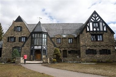 The Kappa Delta Rho fraternity house at Penn State University in State College, Pennsylvania. The fraternity has been suspended as police investigate allegations that members used a private, invitation-only Facebook page to post photos of unconscious nude and partly nude women in sexual and other embarrassing positions. (AP file photo)