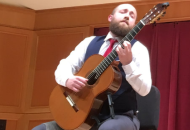 Guitarist Zachary Grim will perform a benefit concert for ediatric Cancer Foundation of the Lehigh Valley on Aug. 19 at Union Lutheran Evangelical Church in Schnecksville.