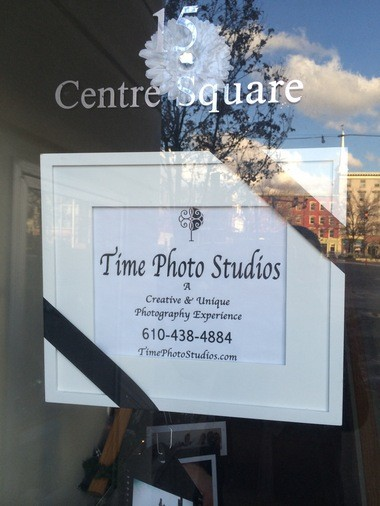 Time Photo Studios is in Easton's Centre Square.