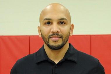 Easton Area High School wrestling coach JaMarr Billman