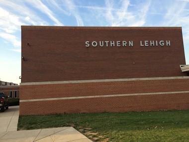 Southern Lehigh High School in Upper Saucon Township is seen March 23, 2016. (Kurt Bresswein | For lehighvalleylive.com)