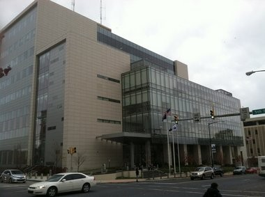 The Lehigh County Courthouse at 455 Hamilton St. in Allentown.
