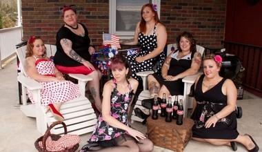 """Nonprofit organization The Modified Dolls is made up of women who have """"modified"""" their bodies with tattoos and piercings."""