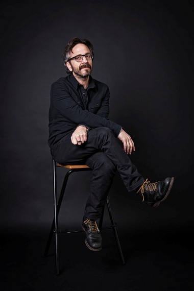 Comedian Marc Maron performs tonight at Musikfest Cafe in Bethlehem.