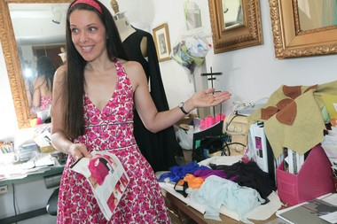 """Pamela Ptak, fashion designer and co-founder of the Arts & Fashion Institute in Riegelsville, is set to appear Saturday during the inaugural Phillipsburg Comic-Con. Ptak will also lead """"Corsets & Cocktails Fashion Show"""" June 25 at SteelStacks in Bethlehem."""