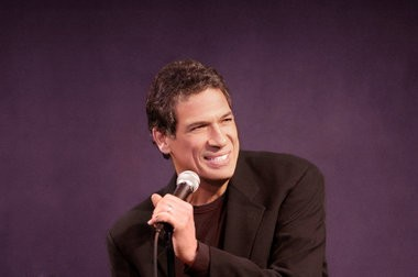 Comedian Bobby Collins performs Friday night at the State Theatre in Easton.