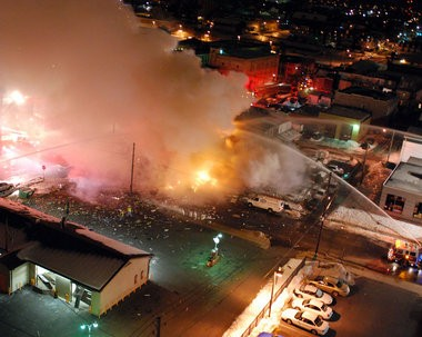Five people were killed in the massive Allentown gas explosion on Feb. 9, 2011, at 13th and Allen streets.