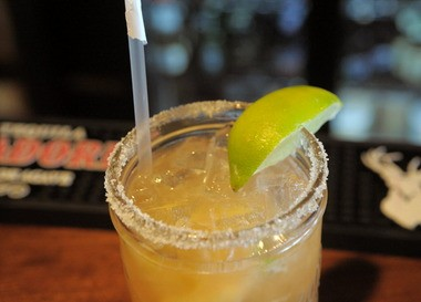 Mesa Modern Mexican's Fun & Flirty Margarita includes a mix of liqueurs and tequila.