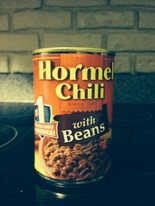 Hormel Chili with Beans