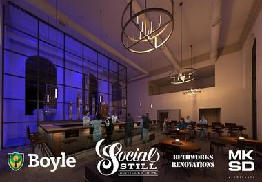 The Social Still is expected to open Nov. 30 in South Side Bethlehem.