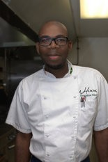 Hook Seafood & Grille Executive Chef Glaister Bancroft Knight.