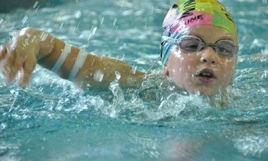 Carly Lenett plans to swim 3 miles to raise $15,000 for the American Diabetes Association.