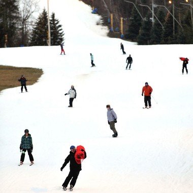 Blue Mountain Ski Area is seen Feb. 2, 2012, in Lower Towamensing Township, Carbon County. A skier injured Jan. 31, 2016, died three days later, the Lehigh County Coroner's Office said. (Lehighvalleylive.com file photo)