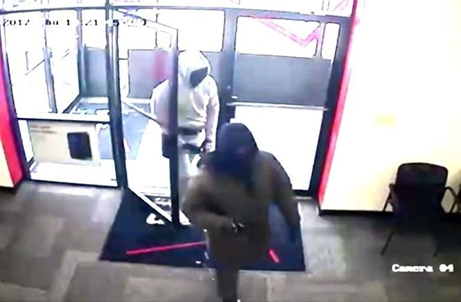 A cellphone store was robbed the morning of Feb. 9 in Wind Gap. (Courtesy photo | For lehighvalleylive.com)