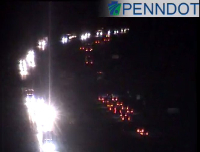 I-78, Turnpike tunnel accidents slow nighttime travel