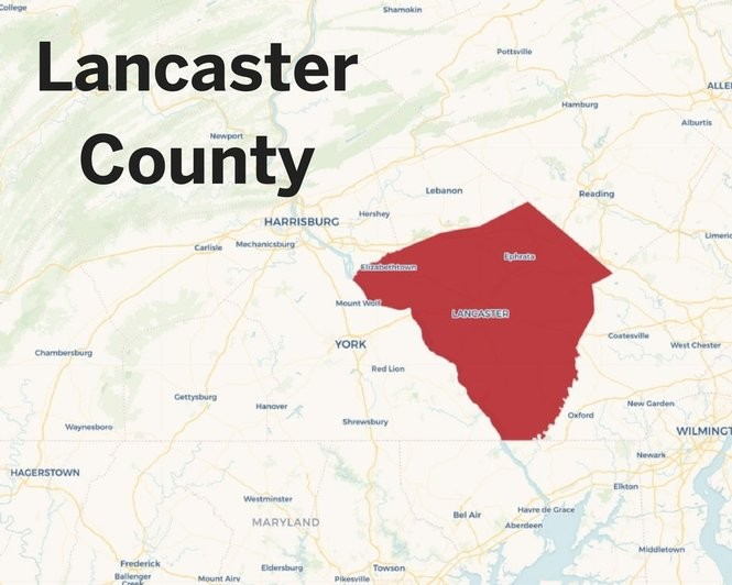 The Pa  counties where police have most used the overdose
