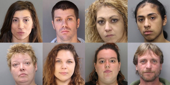 These 8 fugitives were arrested in warrant sweeps, sheriff's office