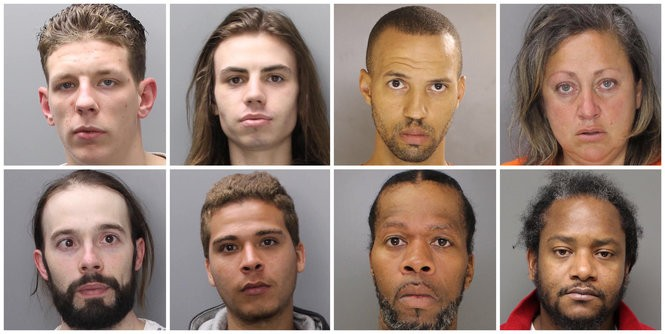 8 more fugitives arrested in warrant sweeps, sheriff's