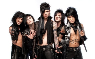 Hard rock band Black Veil Brides take the stage Sunday night at Crocodile Rock Cafe in Allentown.