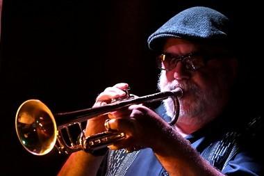 Trumpet player Randy Brecker performs Saturday at Lehigh University's Zoellner Arts Center in Bethlehem.