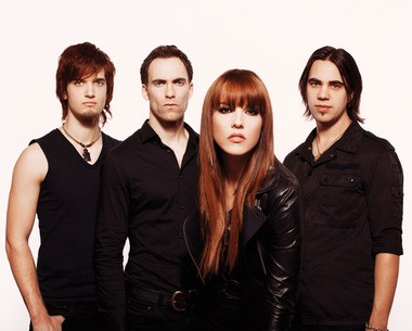 Hard rock band Halestorm performs Sunday night at the Sherman Theater in Stroudsburg, Pa.