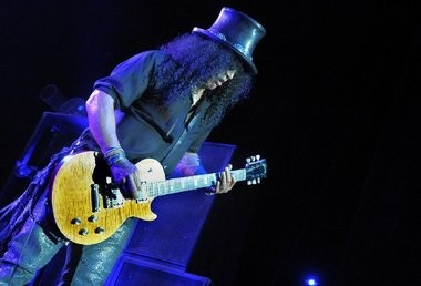 Slash, pictured, performs in July 2013 with Myles Kennedy and the Conspirators at the Sands Bethlehem Event Center in Bethlehem.