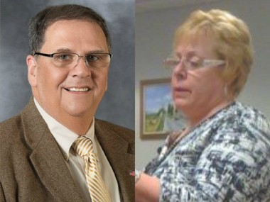 Animosity between Lopatcong Township Mayor Tom McKay and Clerk Beth Dilts goes both ways, and it's causing dysfunction in the township's operations, according to an investigator's report. (Lehighvalleylive.com file photos)