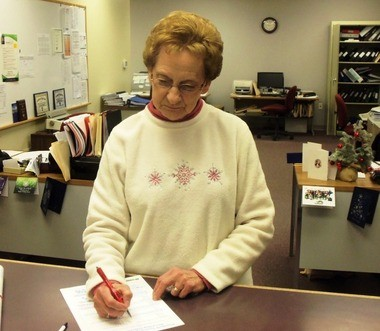 Joyce Lambert has been the executive secretary for Plainfield Township since 1994 but she will be giving up that role to sit on the board of supervisors after winning her seat in November. (John Best   lehighvalleylive.com contributor)