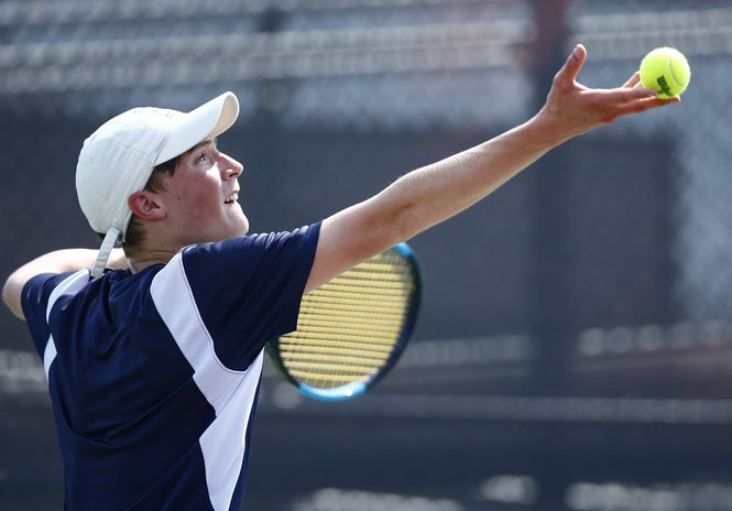 Liberty boys tennis makes it back-to-back district titles