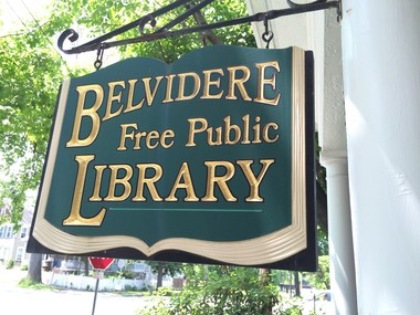 The Belvidere Free Public Library is located at 301 Second Street. (Steve Novak | For lehighvalleylive.com)