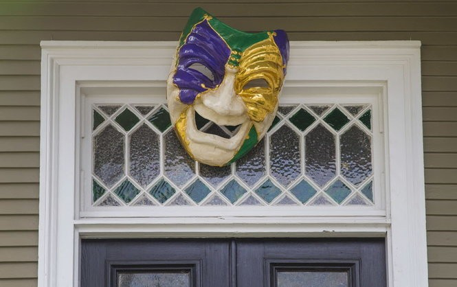 Mardi Gras decorations and yard art abound this time of year around New Orleans. (Photo by Chris Granger, NOLA.com | The Times-Picayune)