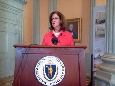 Senate President Therese Murray said Massachusetts should consider a possible increase in the state's minimum wage.