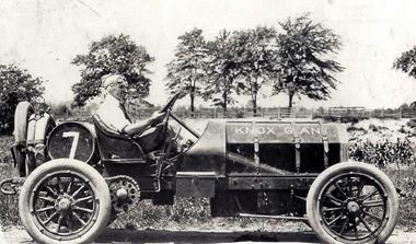 A car in the original 1908 hill climb.