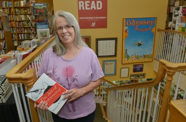 Joan Grenier is the owner of the Odyssey Bookshop in South Hadley, a shop which is celebrating its 50th anniversary this year.