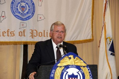 Police Chief Robert Campbell, shown here in 2011, has announced his retirement after nearly 41 years of service with the department.